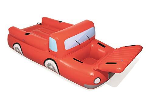 Bestway Schwimminsel Big Red Truck, 280 x 149 cm