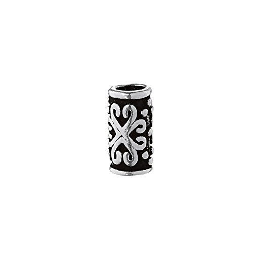 NKlaus gioiello per capelli o barba, Zara, Medioevo, in argento Sterling 925, 6394