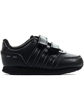 adidas NEO Interruptor VS Niño Infantil Zapatilla Velcro Zapato Triple Negro