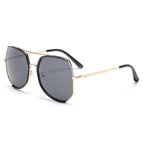 Damen Klassische Sonnenbrille - Style Shades UV400 Schutz Damen, Mädchen Brillen (Farbe : Schwarz)