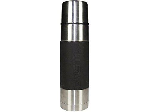 Gusta double paroie en acier inoxydable flacon de boisson/capacité 1 l/qualité Premium/isolation sous vide/pour toute occasion/lavable au lave-vaisselle