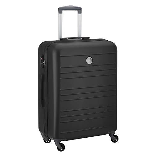 Delsey paris carlit valigia, 66 cm, 80 liters, nero (noir)