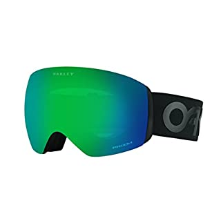 Oakley Herren Sportbrille Flight Deck 705049 0 Schwarz (Factory Pilot Blackout/Prizmjadeiridium) 99