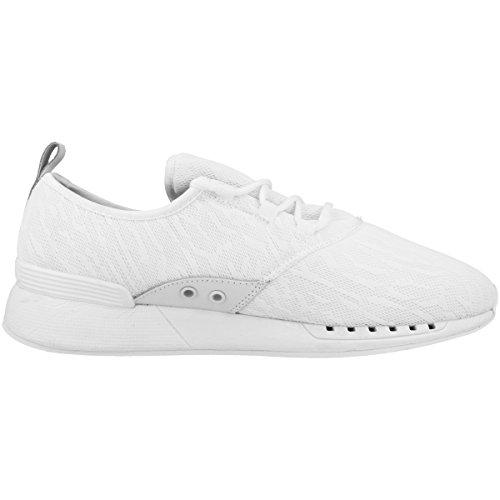 Djinns Herren Moc Lau Mesh Camo Schuhe White