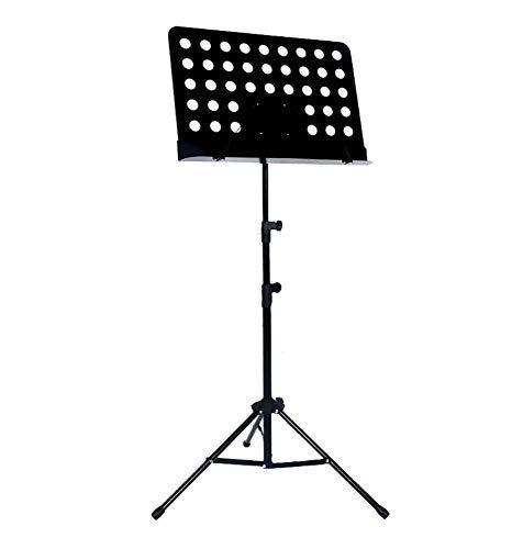 ACZZ Notenständer/Notenständer Mit Stativfuß - Mit Höhen- Und Winkeleinstellung, Song-Regal/Spektrum Nach Hause,Stil 1,Regal