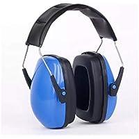 SUPRERHOUNG Reducción de Ruido de los niños Protectores auditivos Protectores de oídos Protectores auditivos para el Descanso y Las ovejas (Amarillo) (Color : Blue L6-A, tamaño : 17x15x19cm)