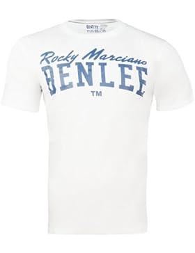 Benlee Rocky marciano promo shortsleeve logo - Camisa, color blanco, talla M