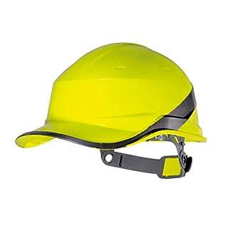 WYNZYTK Schutzhelm-Site Verdickte ABS, Arbeitsschutz-Arbeitskraft des Sicherheits-Sturzhelm-Mannes Passend Für BAU-Richtung (Farbe : Gelb)