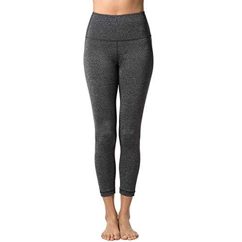 ITISME Donna Allenamento Leggings Sportivi Opaco Yoga Fitness Palestra Pantaloni Lungo Jogging Donna