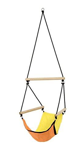 AMAZONAS Kinder Hängesessel Kid's Swinger Yellow 3 - 6 Jahre bis 60kg