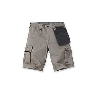 Carhartt Multi Pocket Ripstop Shorts 40 Hellgrau