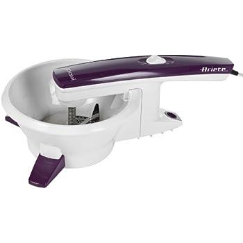 ariete 261 presse l gumes lectrique plastique violet cuisine maison. Black Bedroom Furniture Sets. Home Design Ideas
