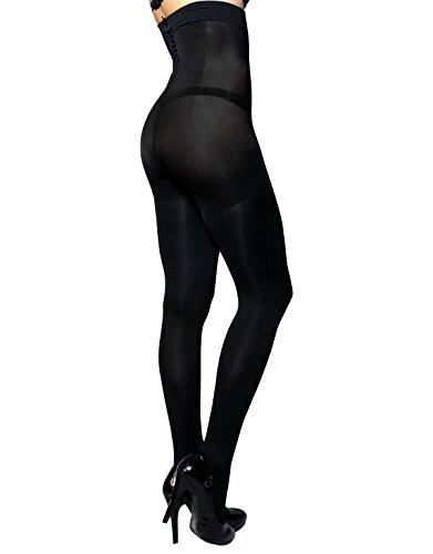 calze-modellante-vita-alta-collant-coprente-total-shaper-push-up-e-control-body-s-m-l-xl-nero-80-den