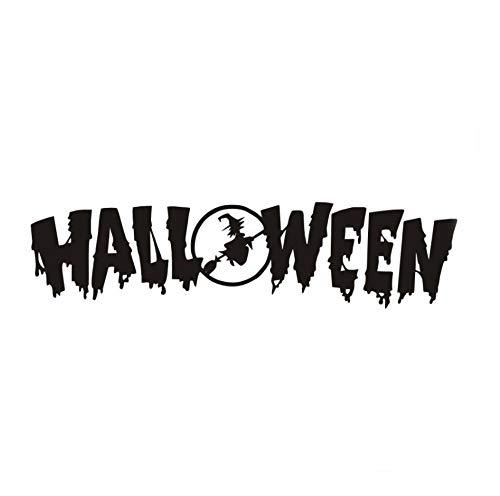 Wandaufkleber Dekoration Wohnzimmer Halloween Festival Diy S FürFenster Tür, Kunst Wandtattoos HalloweenZubehör120 * 30 Cm