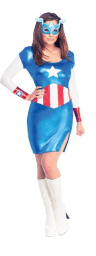 Captain America Kostüm Kleid Frauen Klassisch