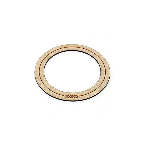 KEO Percussion Bass Wood O-Ring Small · Fellzubehör
