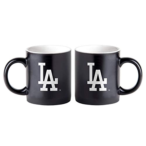 Boelter Los Angeles Dodgers Black Matte Jumbo MLB Becher (415 ml) - Los Angeles-becher