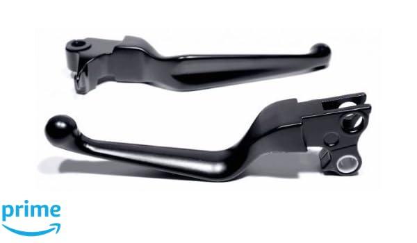 Kupplungs Hebel f/ür Harley Davidson Softail Dyna Sportster 96 Handhebel Brems