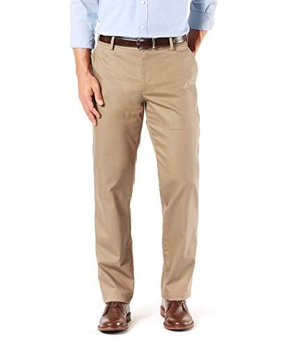 Dockers Men's Straight Fit Signature Khaki Lux Cotton