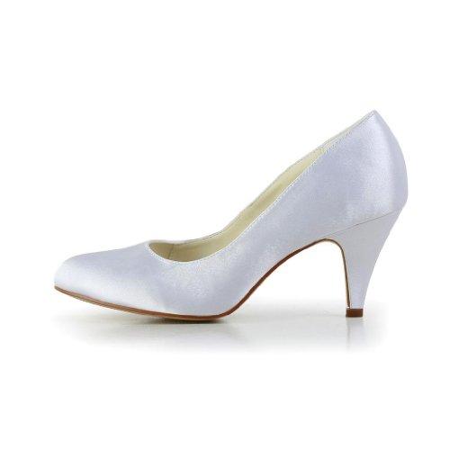 Jia Jia Wedding 5949411 Scarpe Sposa Scarpe col tacco donna Bianco