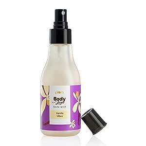 Plum BodyLovin' Vanilla Vibes Body Mist, Dessert Fragrance Spray, 100% Vegan, Paraben- Free, Instant Freshness 150 millilitre