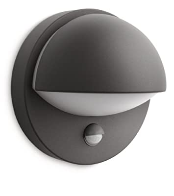 Philips MyGarden June Outdoor Wall Light (Includes 1 x 12 Watts E27 Bulb) - cheap UK wall light shop.