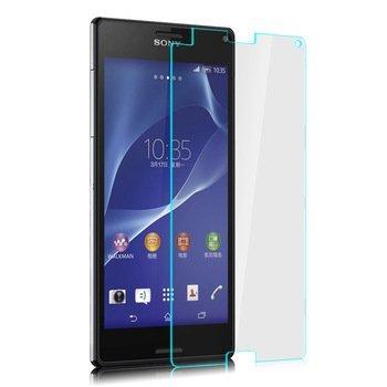 Hartglas Folie Schutzglas Displayschutz Folie aus gehärtetem Glas 0,3mm dünn für Sony Experia Z3 (Ebay Samsung S3 Mini)