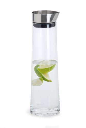Blomus 63436 Wasserkaraffe 1 Liter Acqua, mit Edelstahlausgießer