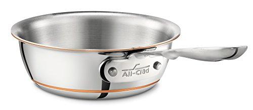 All-Clad 6211SS EURO Copper-Core Sauteuse konisch ohne