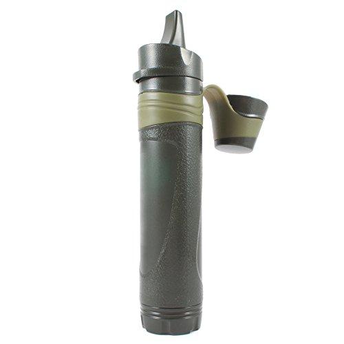 Dreifach-filtration (CampBuddy Miniwell Wasserfilter - Dreifache Filtration auf 0,05 Mikron. Outdoor Camping Trekking)