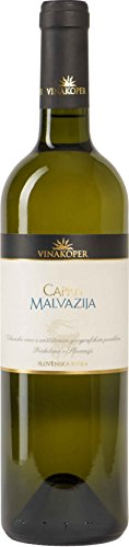 Capri-wein (Vinakoper Barrique Malvasia - Malvazija Capris 0,75 lt aus Istrien - (13,0% vol) - EINWEG)