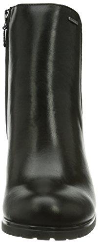 Geox DONNA TRISH ABX B Damen Kurzschaft Stiefel Schwarz (C9999BLACK)