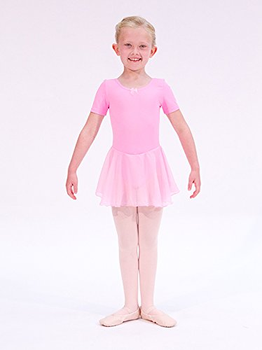 dab8e3c004 Dans-ez by Strictly Dancin Leotard with Skirt Pink Age 2 years