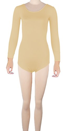 Howriis unisex a maniche lunghe in Lycra SPandex tanga Body Catsuit Skin