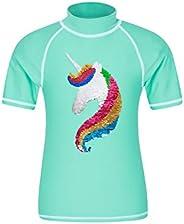 Mountain Warehouse Camiseta térmica de Manga Corta para niños - Camiseta térmica con protección Solar UPF50+,