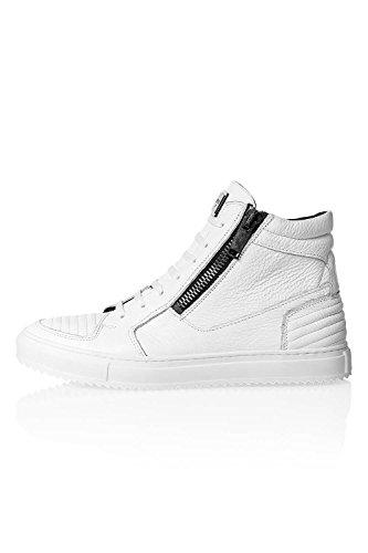 Antony Morato Herren Sneaker High-Top Skaterschuhe (44, White (Col. 1000))