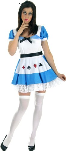 Alice Kostüm (Blau/Weiß) ()