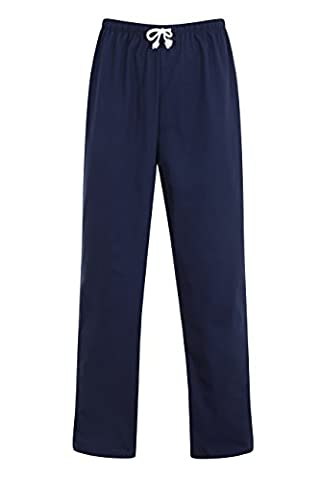 Hospital Scrub Trousers - Unisex Medical Doctors Work Wear (XXL 44