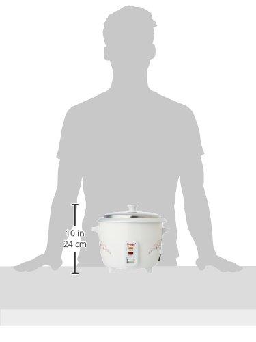 8a3c1945094 Prestige Delight PRWO 1-Litre Electric Rice Cooker (White)