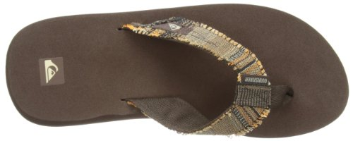 Quiksilver Abyss M Sndl Xccr, Chaussures de bain homme Marron - Braun (BROWN/BRN/RED)