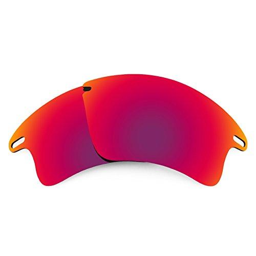 Revant Ersatzlinsen für Oakley Fast Jacket XL Polarisierung Mitternacht Sonne MirrorShield®