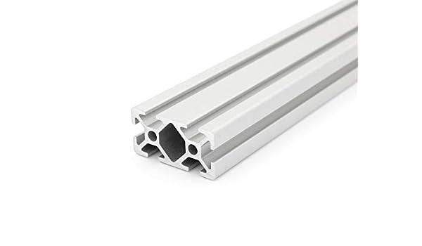 9,50/EUR//m + COUPE 0,25/EUR /D/écoupe 50/mm Profil/é en aluminium 20/x 40/I-2000/mm type Nut 5/
