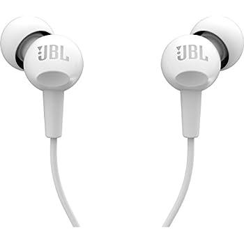JBL C100SI In-Ear Headphones with Mic (White)