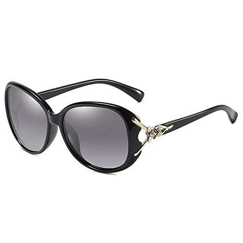 BAIYI Damen Classic Polarized Sonnenbrillen, Fox Legs, Ziegelsteine, Outdoor Driving Brillen, Damen Retro Sonnenbrillen