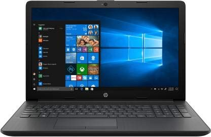 HP 15 di1001tu 15.6-inch Laptop (8th Gen Corei5-8265U/4GB/1TB HDD/Windows 10 Home/Integrated Graphics), Sparkling Black