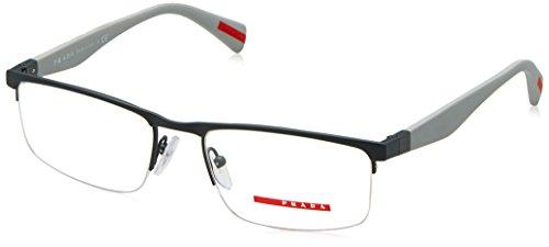 Prada Linea Rossa Für Mann 52f Grey Rubber Metallgestell Brillen, 54mm