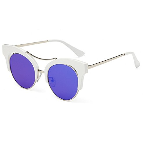 O-C Damen Sonnenbrille Blau C1
