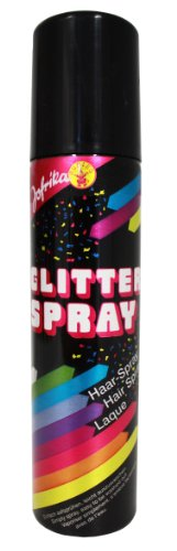 Farb Haarspray Color Spray Sprühdose gold Glitter Glitzer 100ml