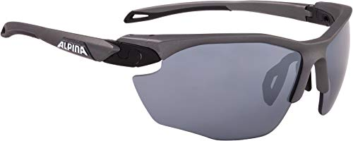 ALPINA Erwachsene Twist Five HR cm+ Sportbrille, tin matt-Black, One Size