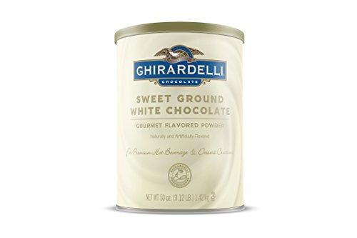 GHIRARDELLI Sweet Ground White Chocolate 1,42 kg